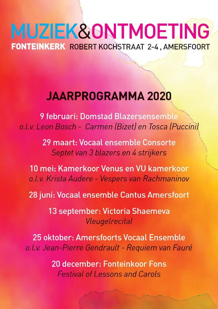 m&o programma 2020
