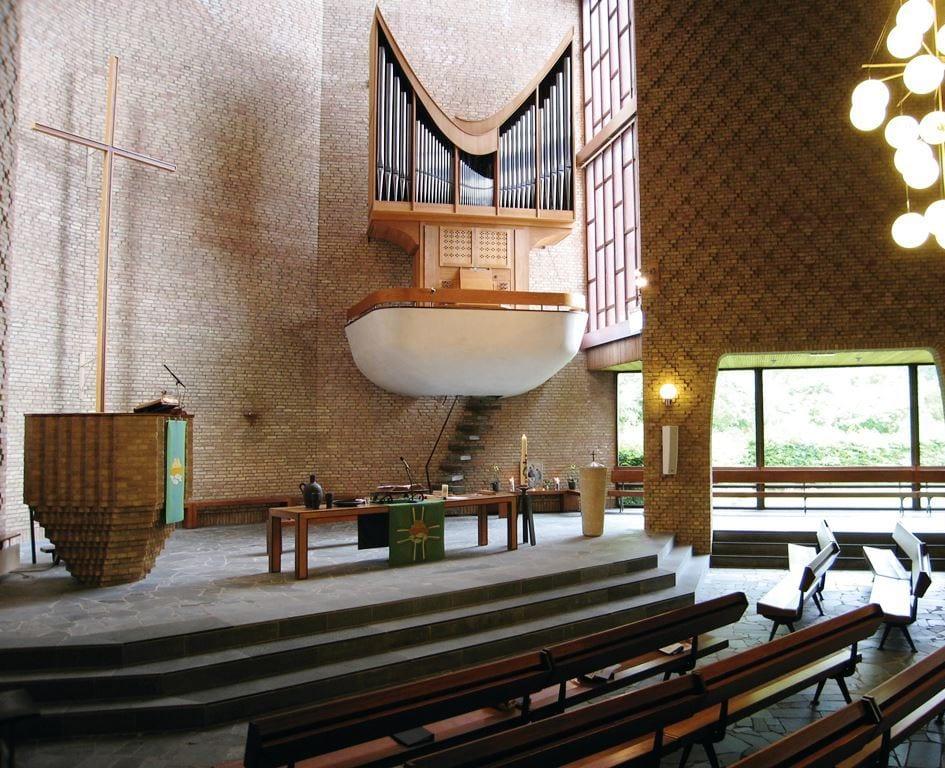 orgel fonteinkerk aanzicht